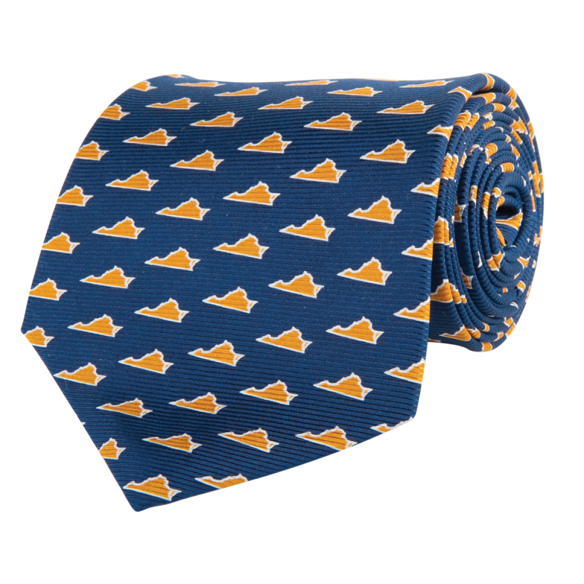 VA Gameday Navy Tie